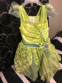 women's green and white floral dress Costa Mesa, 92627
