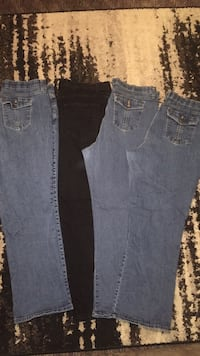 womens lot of 4 jeans size 20 petite Riders By Lee & Faded Glory Waterloo, 50703
