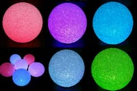 "NEW 5.7"" 6 Colour Changing LED ORB Globe Sphere Ba Montréal, H8P 3A6"