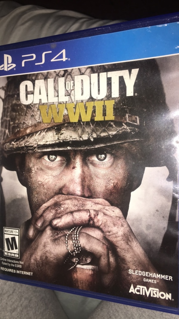 call of duty ww11 ps4 game