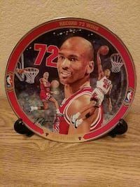 Chicago Bulls decorative plate