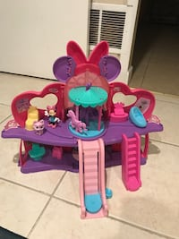 toddler's purple and blue plastic toy 190 mi