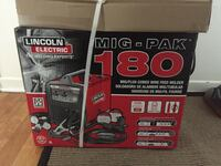 Lincoln welder 180 mig and flux wire fed
