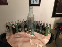 Antique Coca Cola bottles 5.00 and up