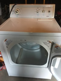 White whirlpool front-load clothes dryer Milton, L9T 4V9