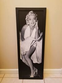 Vintage Marilyn monroe wood art  Omaha, 68132