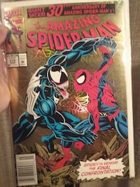 giant sized 30th anniversary spiderman comic