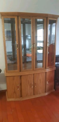Beautifil real wood glass  cabinet Vaughan, L4H 3N5