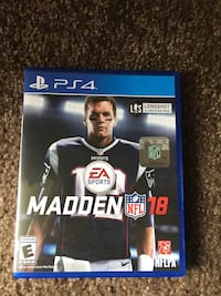 Madden nfl 18 ps4 game also a brand new headset I paid a total of 75 for both I only used headphones once and played game once money is tight.