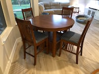 High Top Table with Chairs Sewall's Point, 34996
