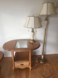 Tables and lamps. need gone asap