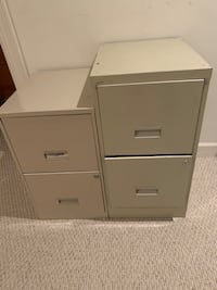 Office filing cabinets (two) Lorton, 22079