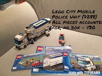 Lego City Mobile Police Unit $30