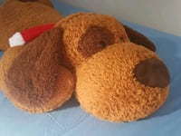 brown and red bear plush toy Toronto, M9N 2P8