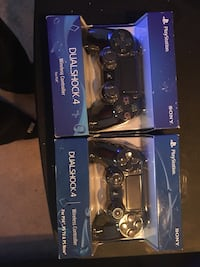 NEW!!!!! PS4 DualShock 4 Controllers!! 2 for 80 67 km