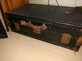 Antique Traveling Chest