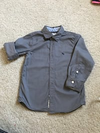 black button-up long-sleeved shirt Doral, 33178