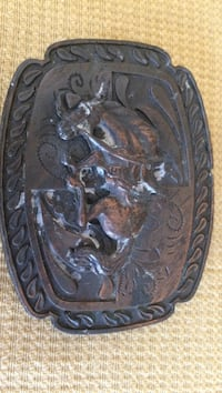 Black and gray horse engrave buckle West Palm Beach, 33407