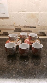 Espresso cups with Saucer  Vaughan, L6A 0R2