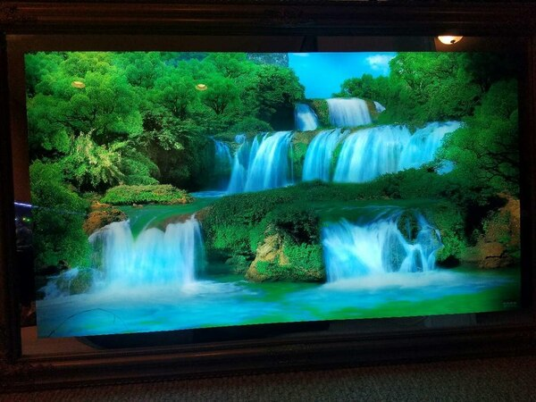 Electronic Waterfall Picture