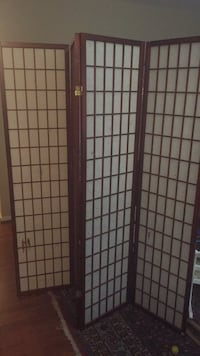 Japanese style screen or room divider Reston, 20190