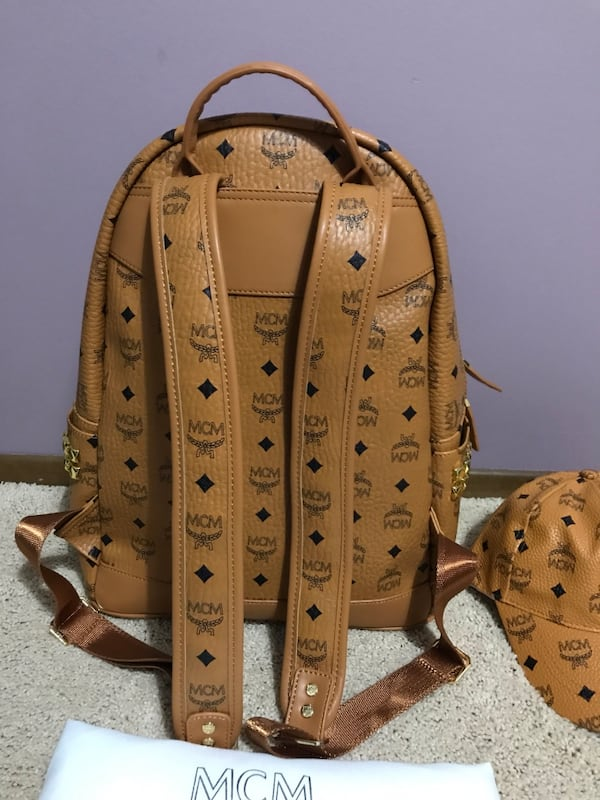 FREE MCM HAT With purchase of Mcm Backpack d80eaab6-3dc8-4dd2-a9fd-368c14f8f720