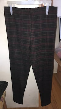 black and gray plaid pants Laval, H7W 1V3