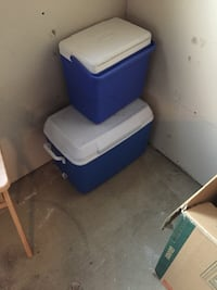 2 coolers 1 medium and I large  Edmonton, T6X 0K1