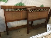 2 twin head boards made by Kindel