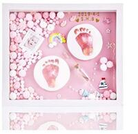 Baby Hand and Foot Print Kit, Non-Toxic, Wood Frame NEW UNDER 1/2PRICE