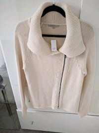 Cream color cotton  cardigan size M. NEW  Innisfil, L9S 0K3