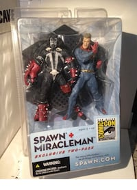 Spawn & Miracleman Two Pack Comic con exclusive