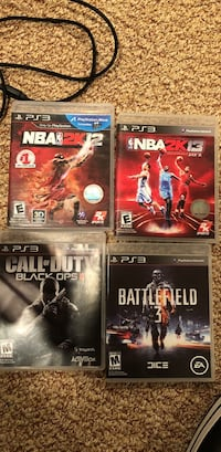 30 for all 4 games PlayStation 3 Middletown, 10940