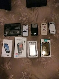assorted-color smartphone case lot Chicago, 60634