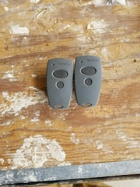two  Martin garage door remotes