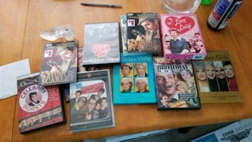 assorted movie cases.dvd
