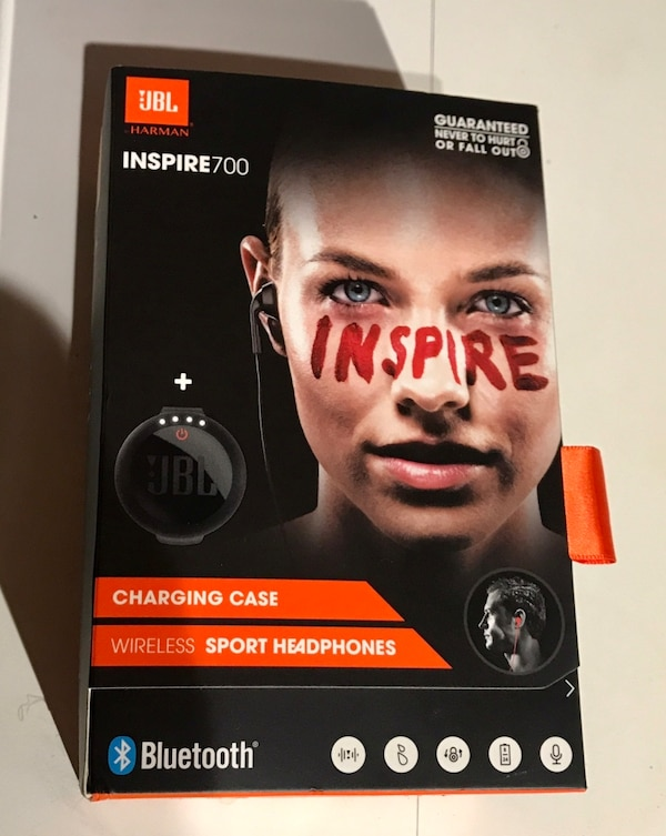 Wireless in-ear Headphones Sport JBL Inspire 700 with Charging Case (Black) 774b4fad-a84e-4a63-a3e2-3aa828b50016