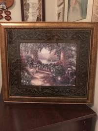 Beautiful detailed Matted Demential Picture of Pretty scenery 33 km