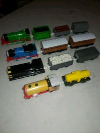 4 assorted Thomas and Friends Trackmaster trains  Brooklyn, 11218
