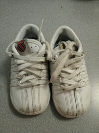 Baby kswiss shoes need cleaning size 5
