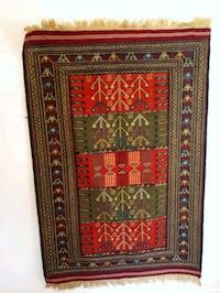 red and green floral area rug Markham, L3T 4W7