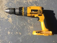 Yellow and black dewalt cordless hand drill 48 km