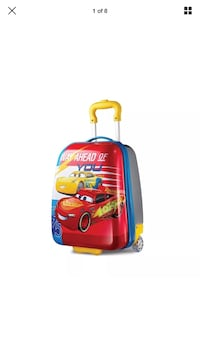 American Tourister Disney Cars Suitcase