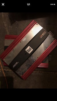 Black and red jbl amplifier Peoria, 85345