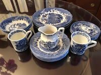 Fine china, made in England 20 pieces 26 km