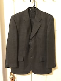 Men's Wool Plaid Blazer Jacket Vancouver, V6G 2C9