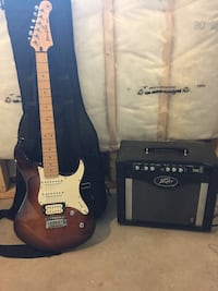 Yamaha Pacifica Electric Guitar and Peavey Amplifier Ottawa, K2V