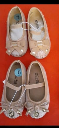 Baby girl Michael kors shoes size 6c and 7c $30 for both  Stockton, 95215