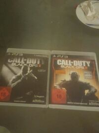 zwei Call of Duty Black Ops Sony PS3 Spielhüllen Nuremberg, 90471