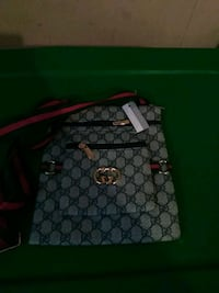 gray and black Gucci leather tote bag Decatur, 30032